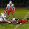 Jameson Atwood (34) tries to pounce on a squib kickoff after a Fitcburg High touchdown. SENTINEL&ENTERPRISE/ Jim Marabello