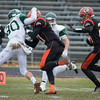 Camden Kulczyk  moves upfield againsg Gardner on Thanksgiving. SENTINEL&ENTERPRISE/ Jim Marabello