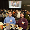 Service recognition lunch in Jadwin Gym