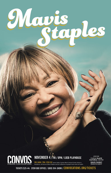 Mavis Staples - November 4, 2016