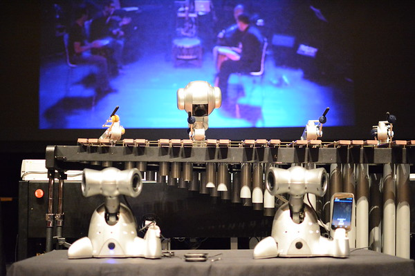 Shimon Robot pre-show and outreach
