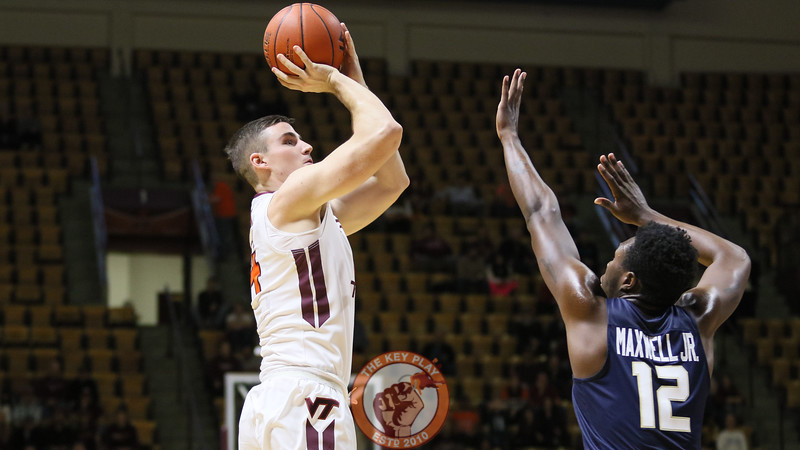 Walkon Greg Donlon gets some playing time in the final minute against Charleston Southern. (Mark Umansky/TheKeyPlay.com)