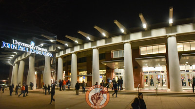 Crowds gather outside of John Paul Jones Arena prior to the game between the Virginia Tech Hokies and the Virginia Cavaliers. (Michael Shroyer/ TheKeyPlay.com)