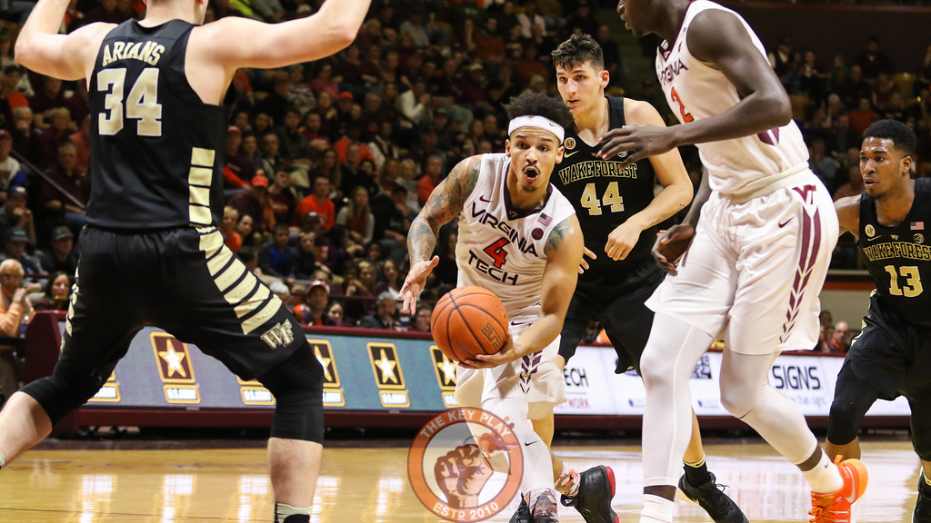 Seth Allen looks for an opening in the Wake Forest defense. (Mark Umansky/TheKeyPlay.com)