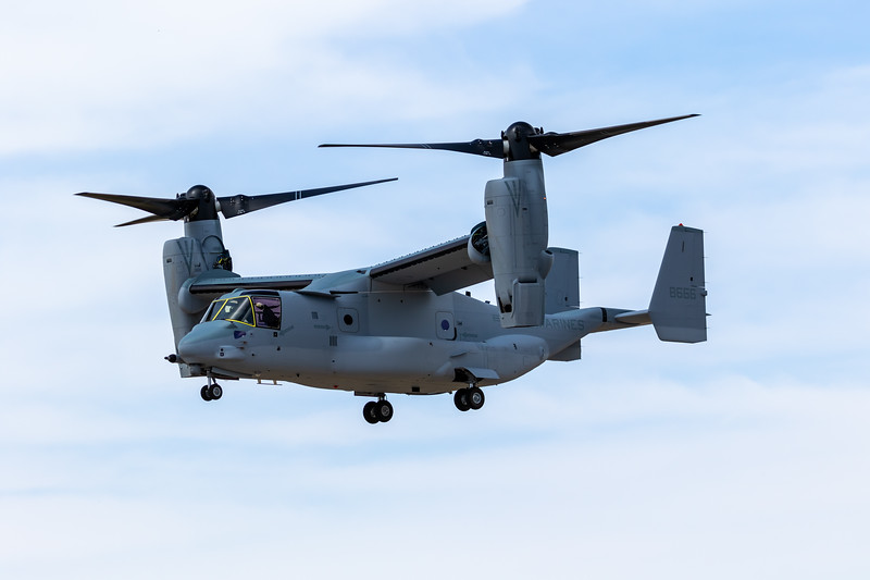-(Aircraft) Bell-Boeing MV-22B Osprey<br /> -(Nation & Service) United States Marine Corps<br /> -(Squadron)<br /> -(Home Base)