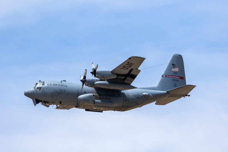 -(Aircraft) Lockheed C-130H Hercules <br /> -(Nation & Service) United States Air Force<br /> -(Squadron) 164th Airlift Squadron <br /> -(Home Base) Mansfield Lahm Air National Guard Base, Ohio