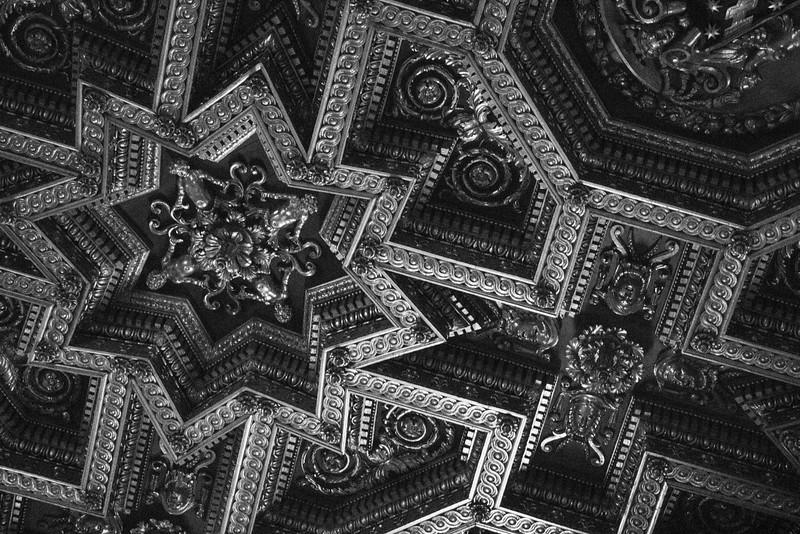 Byzantine Church Ceiling in Rome