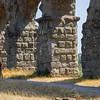 Bicyclist at Claudius's Aqueduct, Rome