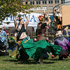 The 16th Annual Fitchburg Blacksmith Art and Renaissance Festival was held Saturday, Sept. 29, 2019 at Riverfront Park in Fitchburg. Members of the Amraw Qawiuh, meaning strong women in Arabic, belly dancers perform at the festival. SENTINEL & ENTERPRISE/JOHN LOVE