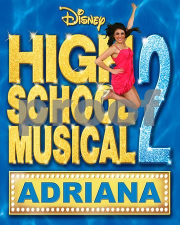Disney High School Musical 2 On Stage! Jump Shots