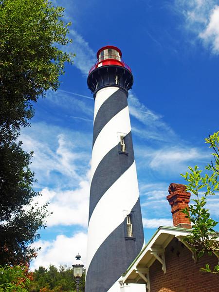 St. Augustine Lighthouse  17x14    $225