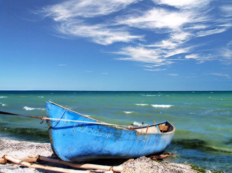 Black Sea Boat 16x20    $295