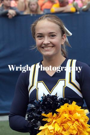 '17 MHS Cheerleaders-Fall Sports