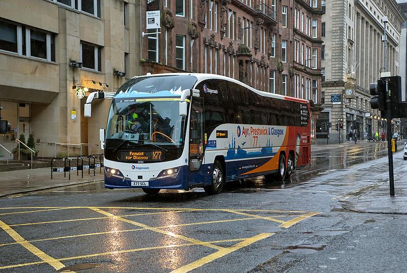 54365 X77SCL, Glasgow 17/1/2021