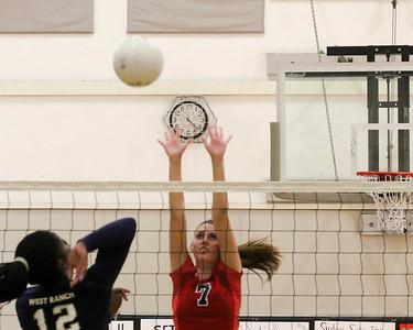 Girls Frosh Volleyball 10/19