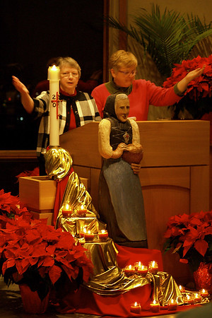 Closing Mass at Salem Heights