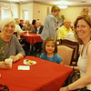 Three generations enjoyed special time together during the Open House and reception. They had learned about it in the Dayton Daily News and thought it would be interesting to visit a convent.