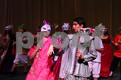 Cinderella Production Shots