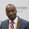 17th World Conference on Tobacco or Health (WCTOH), Cape Town, South Africa, organised by the International Union Against Tuberculosis and Lung Disease.<br /> <br /> Photo shows: Official Press Conference <br /> <br /> Smoking and communicable diseases<br /> Professor Lekan Ayo-Yusuf, WCTOH Scientific chair<br /> <br /> Photo©Marcus Rose/The Union
