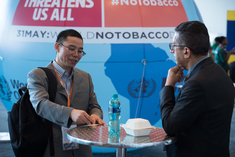 17th World Conference on Tobacco or Health (WCTOH), Cape Town, South Africa, organised by the International Union Against Tuberculosis and Lung Disease.<br /> <br /> Photo shows: Around the conference<br /> <br /> Photo©Marcus Rose/The Union