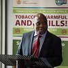 17th World Conference on Tobacco or Health (WCTOH), Cape Town, South Africa<br /> <br /> Photo shows: Youth Pre-Conference. Speaker Deputy Minister of Health South Africa, Dr Mathume Joseph Phaahla<br /> <br /> Photo©Marcus Rose/The Union