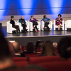 17th World Conference on Tobacco or Health (WCTOH), Cape Town, South Africa, organised by the International Union Against Tuberculosis and Lung Disease.<br /> <br /> Photo shows: Plenary 2 - Women, Development, and Tobacco Control.<br /> L-R: Moderator, Serusha Govender. Dr Judith Mackay, Senior Advisor, Vital Strategies (Hong Kong). Dr Lorraine Greaves, British Columbia Centre of Excellence for Women's Health (Canada). Dr Matshidiso Moeti, WHO Regional Director for Africa (Republic of Congo). Malebona Precious Matsoso, Director General of the National Department of Health (South Africa).<br /> <br /> Photo©Marcus Rose/The Union