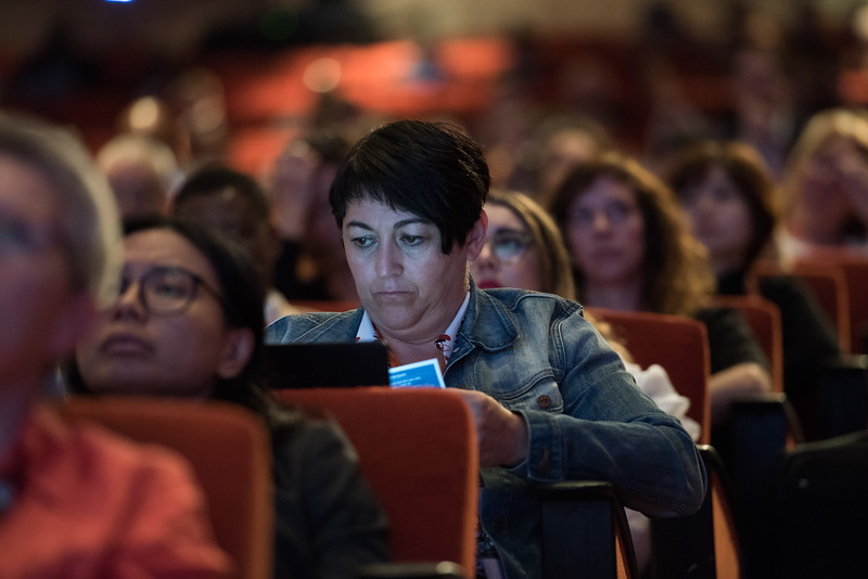 17th World Conference on Tobacco or Health (WCTOH), Cape Town, South Africa, organised by the International Union Against Tuberculosis and Lung Disease.<br /> <br /> Photo shows: Plenary 2 - Women, Development, and Tobacco Control.<br /> <br /> Photo©Marcus Rose/The Union