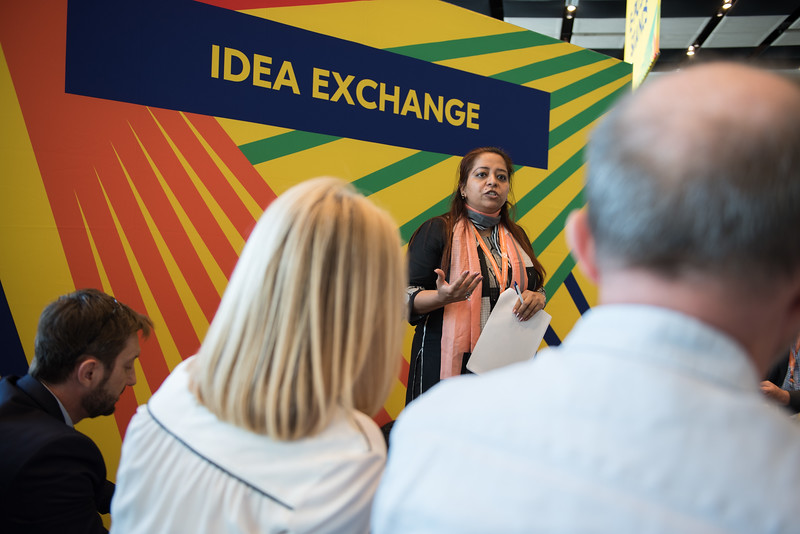 17th World Conference on Tobacco or Health (WCTOH), Cape Town, South Africa, organised by the International Union Against Tuberculosis and Lung Disease.<br /> <br /> Photo shows: Idea Exchange: Reducing tobacco harm and building research capacity in Africa and South Asia<br /> <br /> Photo©Marcus Rose/The Union