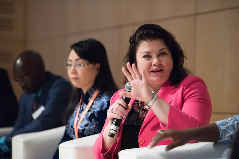 17th World Conference on Tobacco or Health (WCTOH), Cape Town, South Africa, organised by the International Union Against Tuberculosis and Lung Disease.<br /> <br /> Photo shows: Ministerial Forum. Dr Svetlana Akselrod ADG, WHO<br /> <br /> Photo©Marcus Rose/The Union