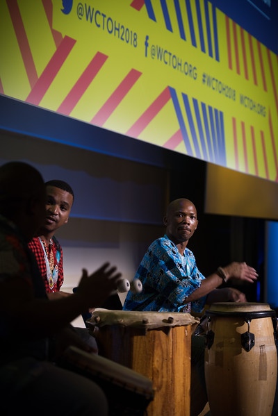 17th World Conference on Tobacco or Health (WCTOH), Cape Town, South Africa, organised by the International Union Against Tuberculosis and Lung Disease.<br /> <br /> Plenary 1: Priorities for Tomorrow's Tobacco Control Agenda and Sustainable Development. Musical Performance<br /> <br /> Photo©Marcus Rose/The Union