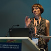 17th World Conference on Tobacco or Health (WCTOH), Cape Town, South Africa, organised by the International Union Against Tuberculosis and Lung Disease.<br /> <br /> Photo shows: The new 'Foundation' for a Smoke-Free World: Strategic considerations for the global tobacco control movement. Anna Gilmore, Chair. <br /> <br /> <br /> Photo©Marcus Rose/The Union
