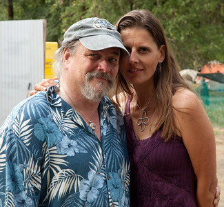 Long time friend and super guitar player Kelly Fleming at Kate Wolf