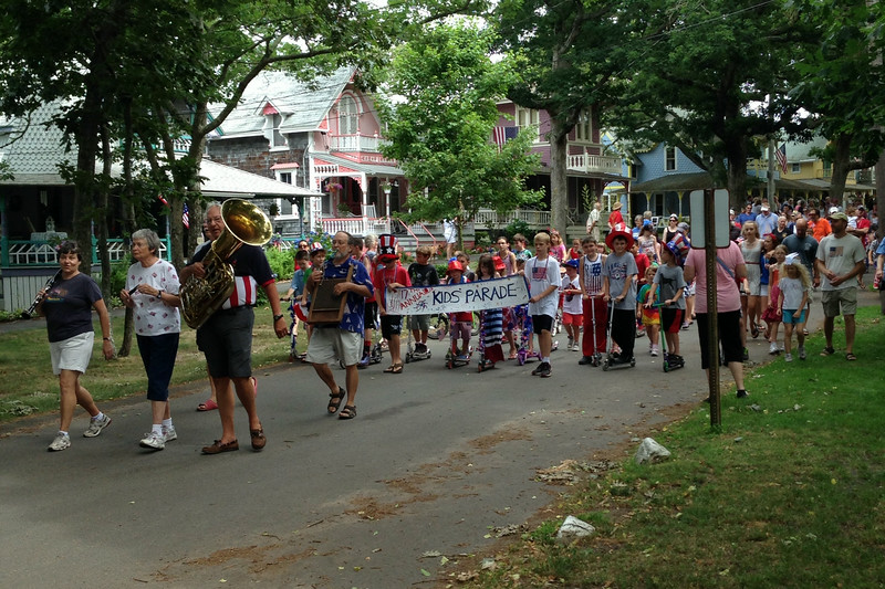 Only a small part of the entire parade!