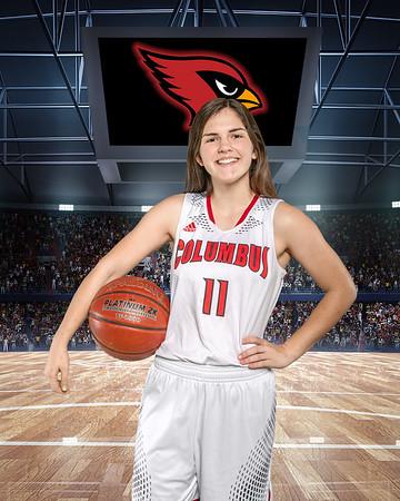 Basketball Background 8x10