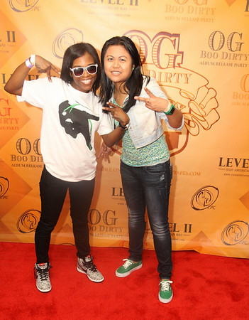 O G Boo Dirty Album Release Party by CGI Ent. @Level II Sunday night {pics by Stephon}