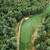 """Townsend Ridge Country Club<br /> Hole #11 - 400 YDS (Blue Tees) - 375 YDS (White Tees) - 365 YDS<br /> (Silver Tees) - 295 YDS (Red Tees) - Handicap #2<br /> """"The hardest hole on the backside at Townsend Ridge is a dogleg right<br /> par 4. The hole is not the longest, but it cannot be overpowered.<br /> Players are forced to hit another 215 yard tee shot off the tee with<br /> hazard running up the left hand side of the hole and tree troubles to<br /> the right. A properly placed tee shot will leave a lengthy approach of<br /> 150-180 yards into the hole. The green complex slopes pretty severely<br /> from right to left. Any approach shots that are left will kick into<br /> the hazard that lurks close to the green and any shot that misses the<br /> green to the right leaves an impossible chip off a downhill lie to a<br /> green that runs away. The approach shot always plays a little longer<br /> than the yardage. This hole requires a good tee shot, a good approach<br /> shot and some great short game work to make par. While the drive isn't<br /> as difficult as  No. 4 and the approach isn't as difficult as No. 8,<br /> this is widely regarded as one of the most difficult holes on the<br /> course because it requires your attention throughout."""" -- Derick Fors,<br /> General Manager & Head Golf Professional, Townsend Ridge Country Club<br /> SENTINEL & ENTERPRISE / Ashley Green"""