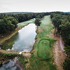 """Shaker Hills<br /> Hole 5<br /> """"Hole No. 5 is over 600 yards from the tips and plays into the<br /> prevailing wind. This tree lined hole requires a long, but accurate<br /> tee shot that will set you up for a demanding layup shot on this three<br /> shot hole. Once you finally get within striking distance of the green,<br /> you are now faced with a two-tear green with nothing but trouble to<br /> the right. Birdies are rare on this par five even from the forward<br /> tees."""" -- Andy Jordan, PGA Certified Head Golf Professional at Shaker<br /> Hills Country Club<br /> SENTINEL & ENTERPRISE / Ashley Green"""