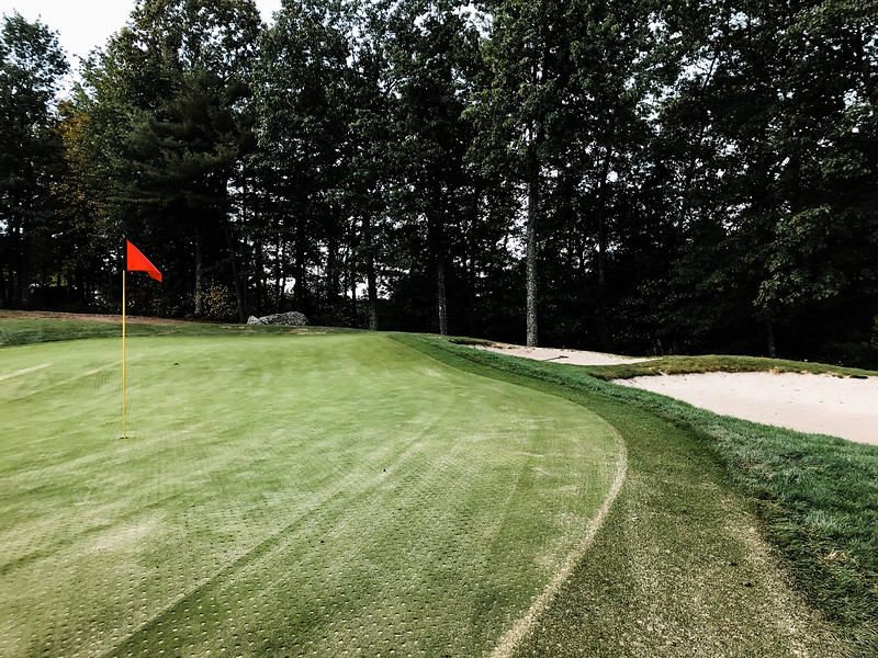 "Shaker Hills<br /> Hole 5<br /> ""Hole No. 5 is over 600 yards from the tips and plays into the<br /> prevailing wind. This tree lined hole requires a long, but accurate<br /> tee shot that will set you up for a demanding layup shot on this three<br /> shot hole. Once you finally get within striking distance of the green,<br /> you are now faced with a two-tear green with nothing but trouble to<br /> the right. Birdies are rare on this par five even from the forward<br /> tees."" -- Andy Jordan, PGA Certified Head Golf Professional at Shaker<br /> Hills Country Club<br /> SENTINEL & ENTERPRISE / Ashley Green"