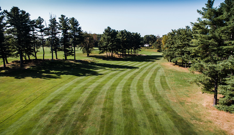 "Westminster Country Club<br /> Hole 13<br /> ""It is a long par 4 dogleg right from an elevated tee box to a large<br /> two-tear green. Most ""everyday"" golfers will have to settle for a<br /> bogie at best here. Your long-ball hitters will sometimes try a<br /> shortcut over corner and find themselves trapped from being able to<br /> shoot toward the green unless they hit their best shot."" -- Michael<br /> Leblanc, Director of Golf Operations Westminster Country Club<br /> SENTINEL & ENTERPRISE / Ashley Green"