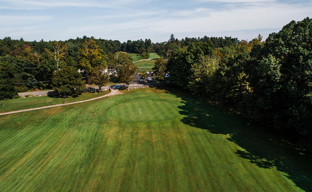 . Toughest 18 Holes in North Central MA Hole 9, Settlers Crossing Country Club SENTINEL & ENTERPRISE / Ashley Green