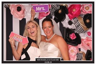 18 août 2018 - Mariage Michaela et Claude