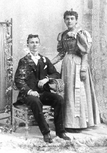 Romuald & Marie Wedding 1895