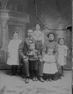 Philias Lanoue & Family
