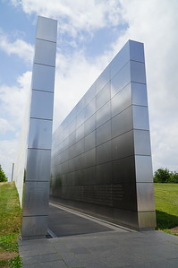 """""""Empty Sky"""" , a monument to the New Jerseyans who lost their lives in the 911 attack."""