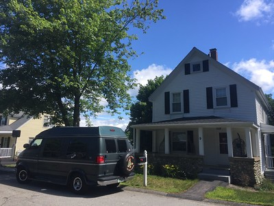 Walpole, MA:  Big Bro's new house
