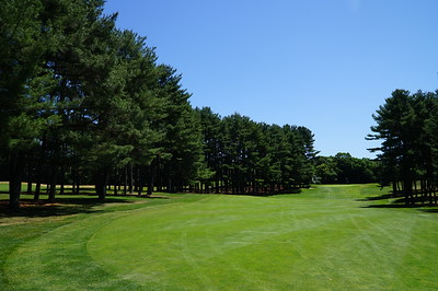 Needham Golf Club:   Hole #5, from the women's tee.  (No, I didn't hit from here.)