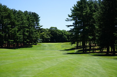 Needham Golf Club:  #5, from the center of the fairway.