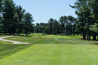 Needham Golf Club:  Hole #2, par 3, 201 yards.