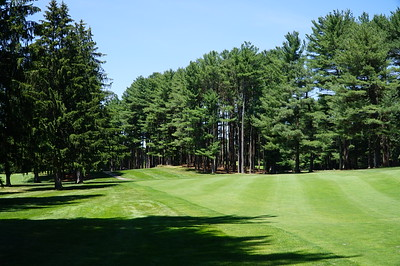 Needham Golf Club:  #5, looking back towards the tee.