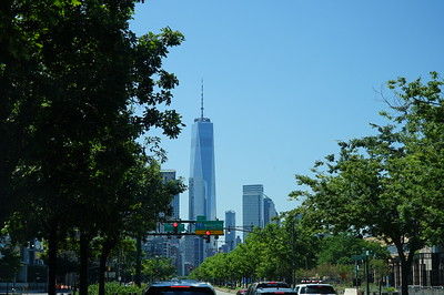 """One World Trade Center, also known as """"Freedom Tower"""", the first stop on a full list for today."""